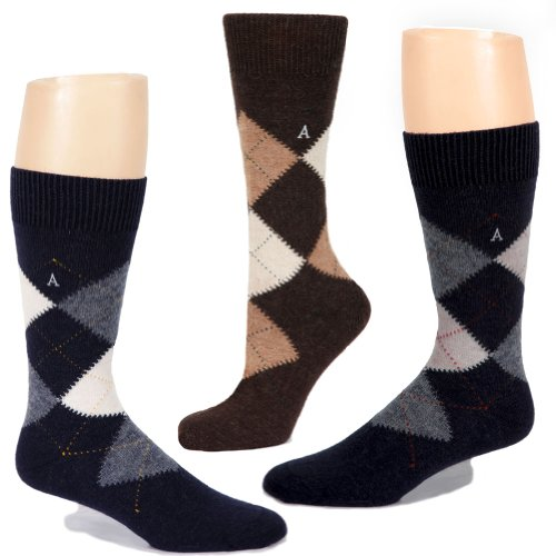Warrior Alpaca Socks Mens Argyle product image