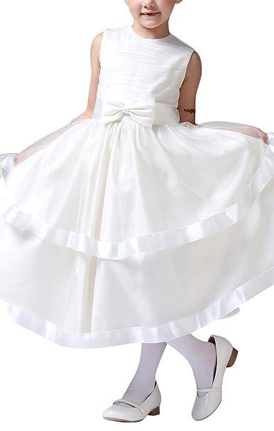 GEORGE BRIDE Abito da sera del vestito da damigella d onore ragazza abiti  Flower Girl Dress bambini GE0214  35d3b1512a4