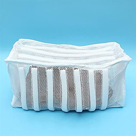 ab311772683ec Amazon.com: Zippered Laundry Footwear Mesh Wash Bag Sneaker Washer ...