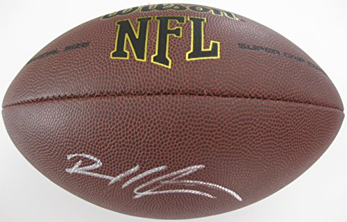 Devin Hester Nfl (Devin Hester, Atlanta Falcons, Chicago Bears, Signed, Autographed, NFL Football, a COA with the Proof Photo of Devin Signing the Football Will Be Included)
