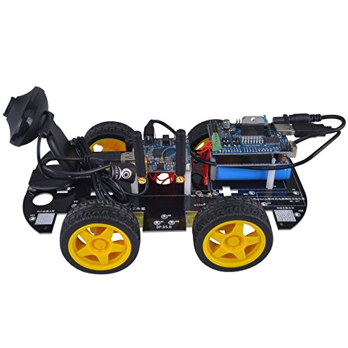 Kuman Sm3 Wi Fi Robot Car Kit For Arduino 4 Wheel Utility Vehicle