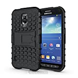 Galaxy S5 Active Case, Cocomii® [HEAVY DUTY] Grenade Case *NEW* [ULTRA TITAN ARMOR] Premium Shockproof Kickstand Bumper [MILITARY DEFENDER] Full-body Rugged Dual Layer Cover for Galaxy S5 Active (Black) ★★★★★