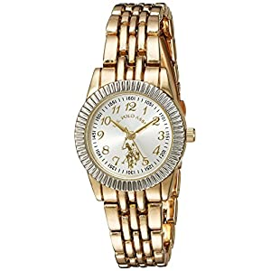 U.S. Polo Assn. Women's Analog-Quartz Watch with Alloy Strap, Gold, 6 (Model: USC40098)