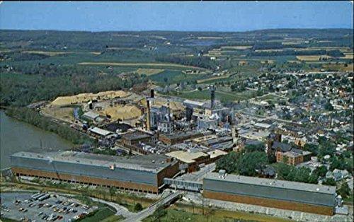 P  H  Glatfelter Co  Spring Grove  Pennsylvania Original Vintage Postcard