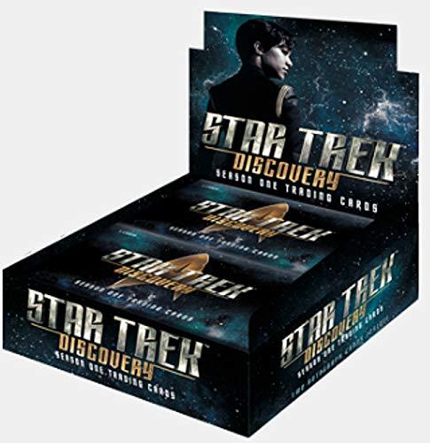 (2019 Rittenhouse Star Trek 'Discovery' Season 1 Trading Card box (24 pk, TWO Autograph cards))