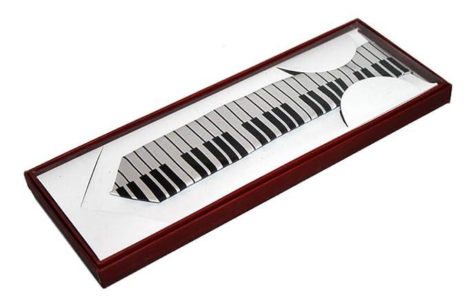 Piano Key Tie - Corbata fina: Amazon.es: Instrumentos musicales