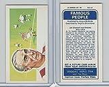 B0-0 Brooke Bond Tea, Famous People, 1967, #47 Stanley Matthews, Football