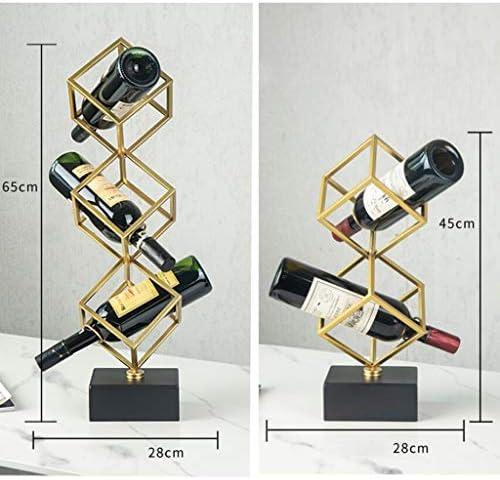 JSJ Wine Rack, Wine Cabinet Decoration Decoration Home Living Room Modern Minimalist Nordic Wine Bar Wine Racks