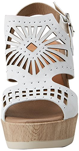 Women's White Sandals Fluchos White Open Salma Toe adaZOw