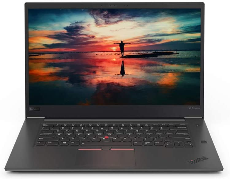 "Lenovo ThinkPad X1 Extreme Laptop, 15.6"" 4K UHD HDR (3840 x 2160) Touchscreen, 8th Gen Intel Core i7-8850H 6 core, 32GB DDR4, 1TB Solid State Drive, Windows 10 Pro (Renewed)"