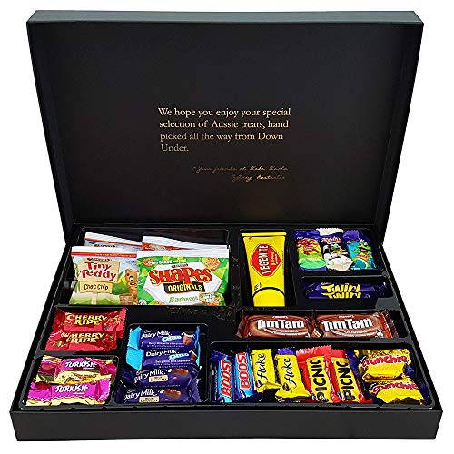 Aussie Favorites Gourmet Care Package - Vegemite, Tim Tam Cookies, Cadbury and More - Koko Koala Australia    for $<!--$59.99-->