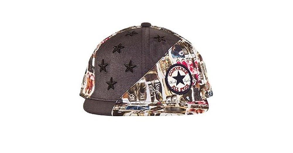 edb1a82bdc2e Converse Trainer Collage Stars Youth Snapback Cap  Amazon.co.uk  Clothing