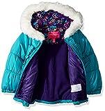 London Fog Girls' Little Winter Coat with Hat