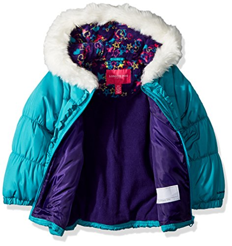 London-Fog-Girls-039-Winter-Coat-with-Hat-and-Scarf-Choose-SZ-color