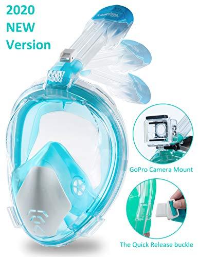 X-Lounger Snorkeling Mask Full