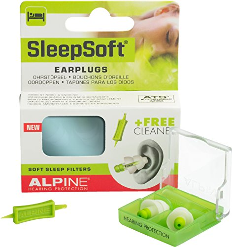 Alpine Clock - Alpine Sleep Soft Earplugs