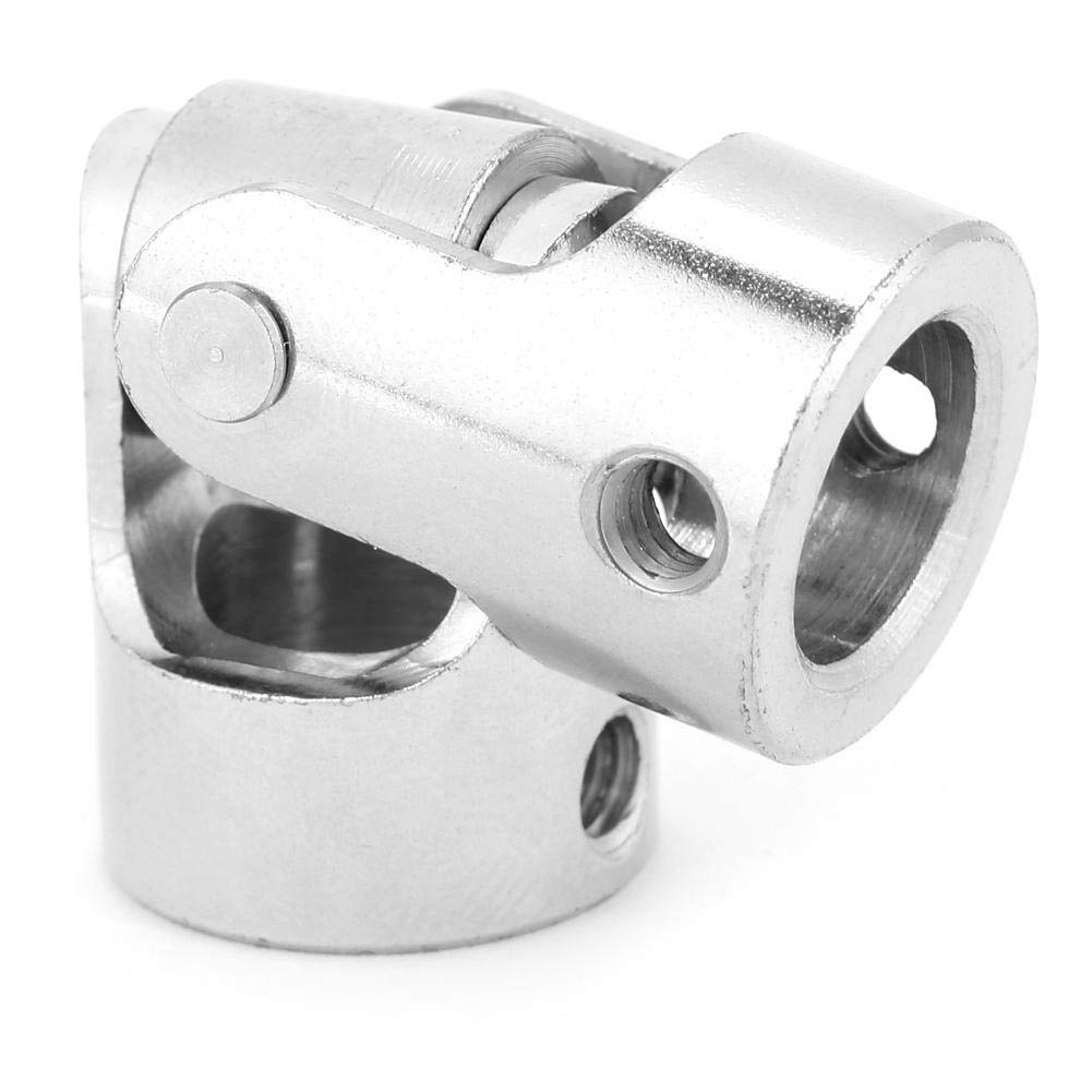Universal Coupling Inner Diameter 1010mm Durable Practical Easy Installation Nickle Plated Iron Shaft Joint Motor Connector for Model Ships Model Universal Joint