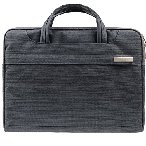 Sound harbor Laptop Bag For 15-15.6Inch Laptop Multi-functional Suit Fabric Portable Laptop Carrying Bag Shoulder Laptop Bag laptop messenger bag Tablet