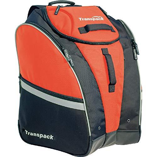 Transpack Competition Pro Ski Boot Bag 2019 - Orange-Silver Electric (Best Ballistic Helmet 2019)
