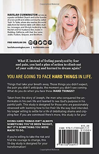 I Do Hard Things: A Bible Study to Break of Fear and Pain