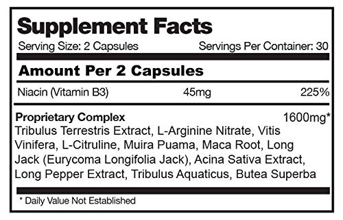 #1 Penis Enlargement Pills Enlarge Bigger Penis Size/Girth Growth Male Enhancement (RexaDrene, 5 Bottles (25% Discount))