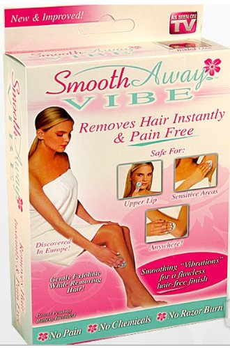 Price comparison product image Smooth Away Vibe Vibrating Hair Removal As Seen on TV