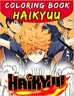 Haikyuu Coloring Book Anime Coloring Book Sketchbook Anime Manga Coloring Books Volleyball Anime Coloring Books Amazon De Bo Haikyu Fremdsprachige Bucher