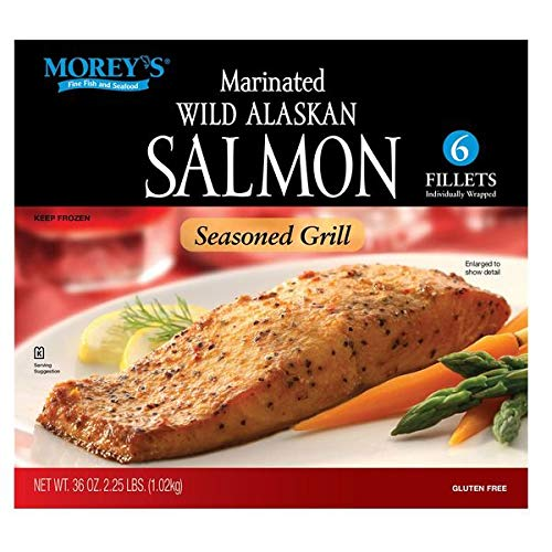 Morey's Expect More Marinated Wild Alaskan Salmon, 6 ct
