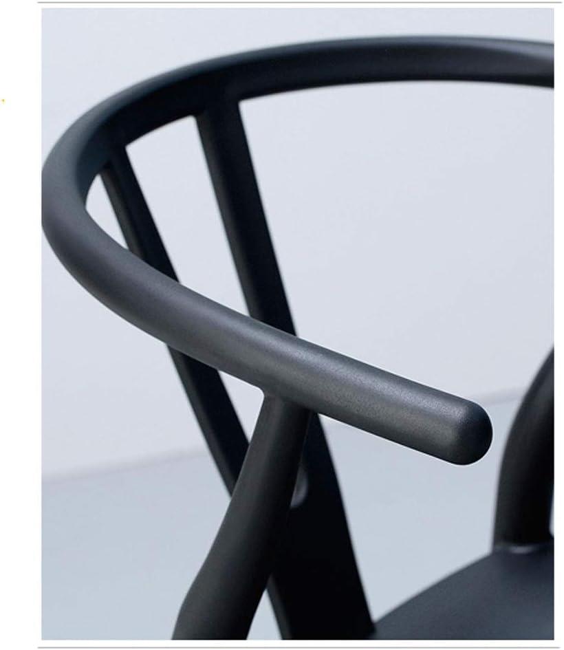 MAYAN Chaise de Salle à Manger Maison Minimaliste Moderne Chaise de Dossier en Bois Massif Durabilité (Color : E) F