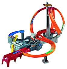 Hot Wheels Spin Storm Playset (Amazon Exclusive)