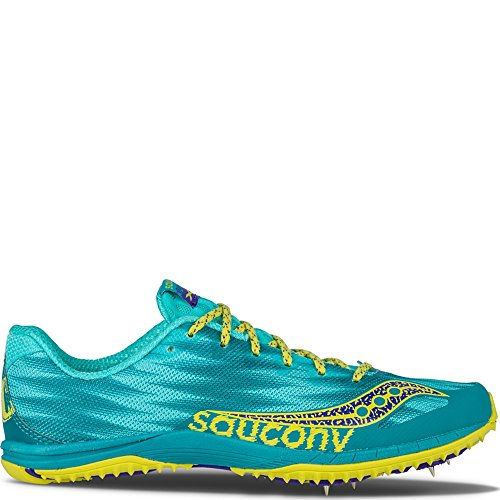 Saucony Womens Kilkenny Xc5 Teal Scarpa Da Cross Country | Giallo