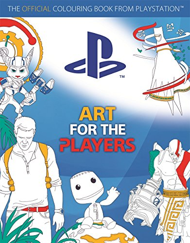 Art for the Players: The official colouring book from PlayStation (Us Ps4 O Last)