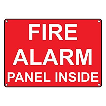 Amazon.com: Impermeable de plástico Panel de Alarma contra ...