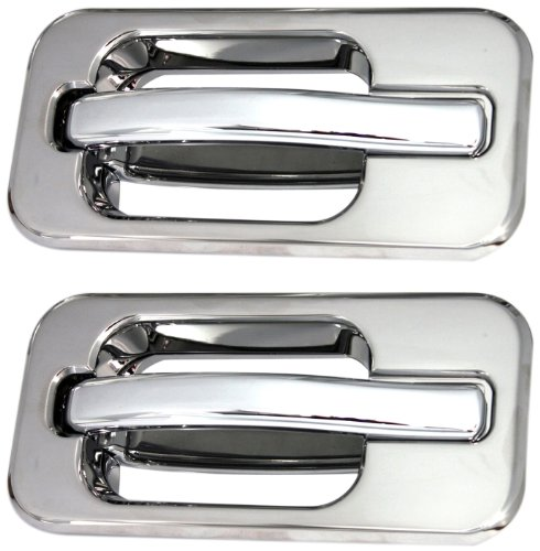 All Sales 602 Polished Billet Aluminum Rear Door Handle and Bucket (Billet Door Bucket)