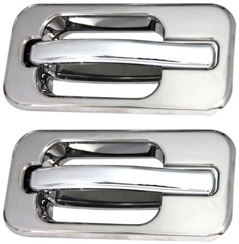 All Sales 602 Polished Billet Aluminum Rear Door Handle and Bucket Kit (Billet Door Handle 2003 Hummer H2 compare prices)