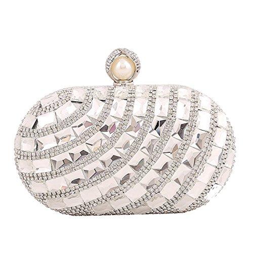 TOOKY silver Pochette femme femme Pochette TOOKY pour silver TOOKY pour Pochette pour Pr8POxq