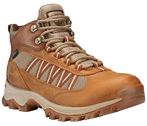 (Timberland Men's Mt. Maddsen Lite Mid WP Hiking Boot, Light Brown - 7 D(M) US)