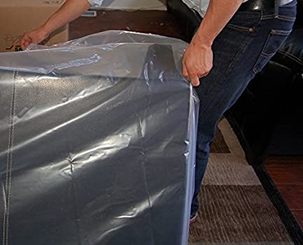 10 Extra Large Thick Plastic Bags Covers 1000x1500mm 1x1.5metre Furniture Cover