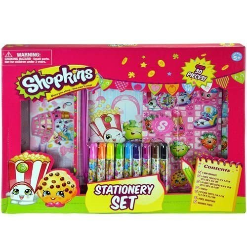 Shopkins 30pc Stationery in Box