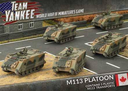 Team Yankee: Canada: Maa3 Platoon by Team Yankee