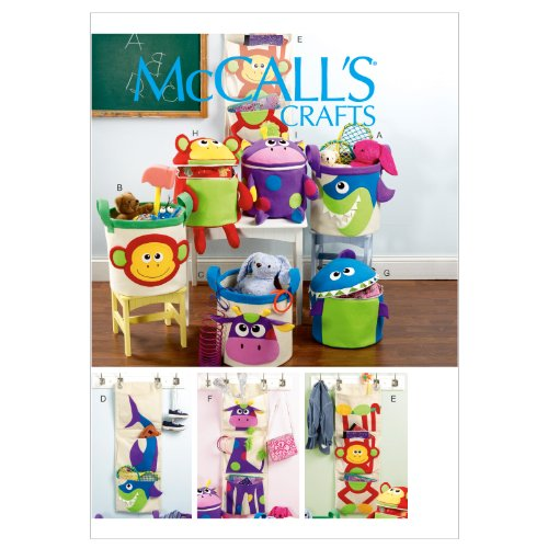McCall Patterns M6624OSZ Baskets Hanging
