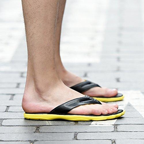 blue playa zapatillas de zapatillas grueso antideslizante inferior hombres zapatos Chanclas de 6vfTqw