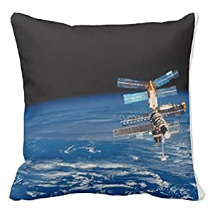 Personalized 18x18 Inch Square Cotton Eagle Nebula Throw Pillow Throw Pillow Case Decor Cushion Covers