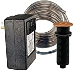 Westbrass ASB-2B3-11 Disposal Air Switch And Dual Outlet Control Box, Antique Copper