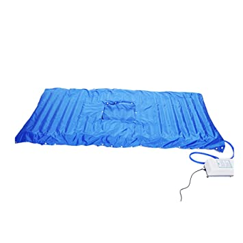 MARNUR Alternating Pressure Air Mattress with Pump Air Pressure Mattress - Inflatable Bed Pad Helps Relieve Bed Sores