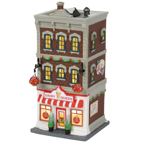 Department56 Department 56 Christmas in The City Downtown Dairy Queen by Department56