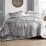 Byourbed Coma Inducer Oversized Queen Comforter - Velvet Crush - Champagne Alloy