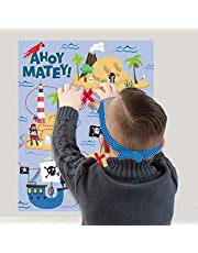 """""""Ahoy Matey!"""" Pirate Party Game - 1 Pc"""