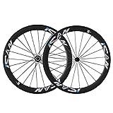 ICAN 50 mm 700 C ruedas bicicleta de carretera de carbono Clincher Llanta Shimano 10/11 velocidades sólo 1510 G