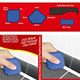 YAMI® 4 Pieces Caulking Tool Set,Sealant Tool ,Silicone Grout Remover Scraper Spreader Spatula Scraper Cement Caulk Remover Tool for Bathroom Kitchen Home Sealing Projects